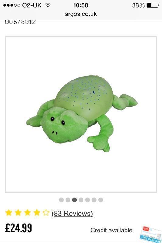 summer infant slumber frog united kingdom gumtree. Black Bedroom Furniture Sets. Home Design Ideas