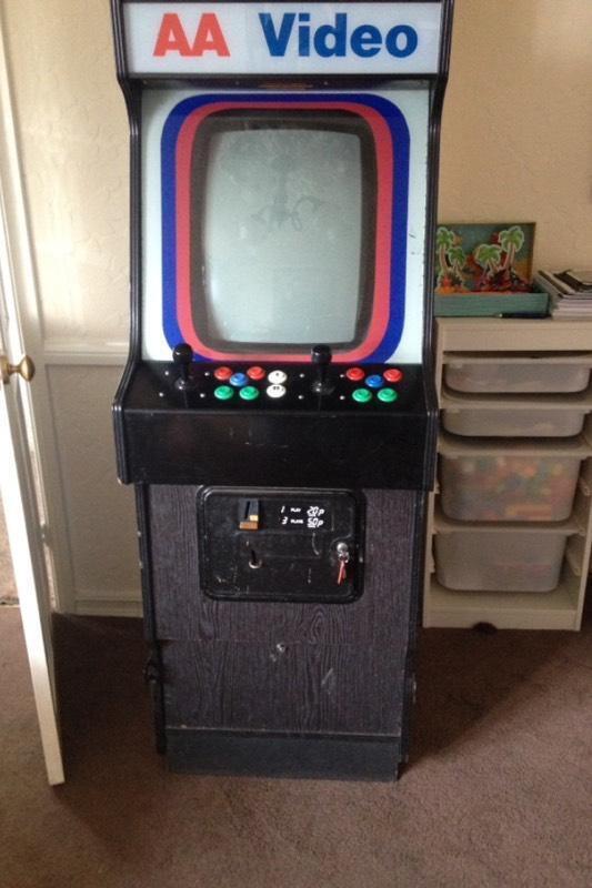 arcade machine for sale