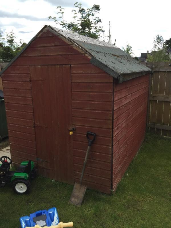 7x5 shed united kingdom gumtree for Garden shed 7x5