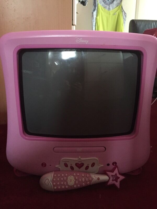 Disney Princess tv And Dvd Player Disney Princess Tv/dvd Player