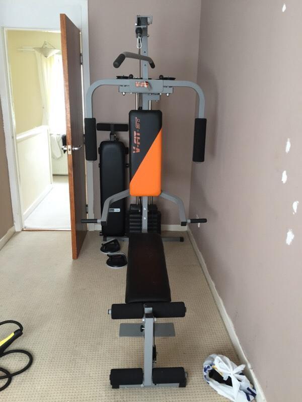 V fit multi gym lay flat united kingdom gumtree
