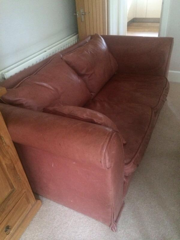 Leather Heals Two Seater Sofa United Kingdom Gumtree