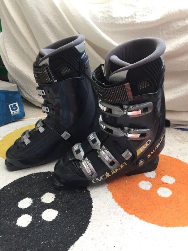 salomon evolution 9.0 ski boots   Becky (Chain Reaction