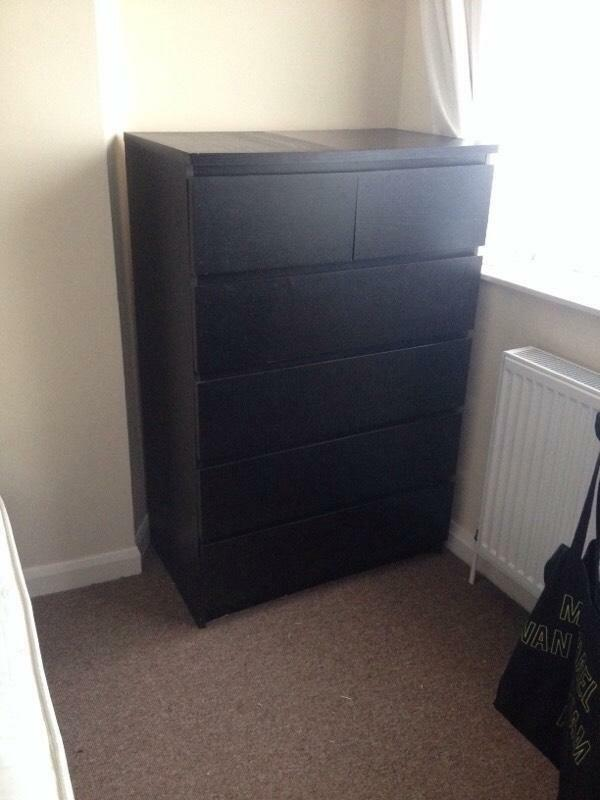 Ikea Wooden Chest of Drawers Large Wooden Ikea Chest of