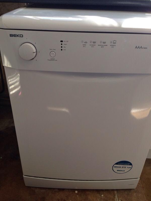 Table Top Dishwasher For Sale In Norwich : Beko dishwasher United Kingdom Gumtree