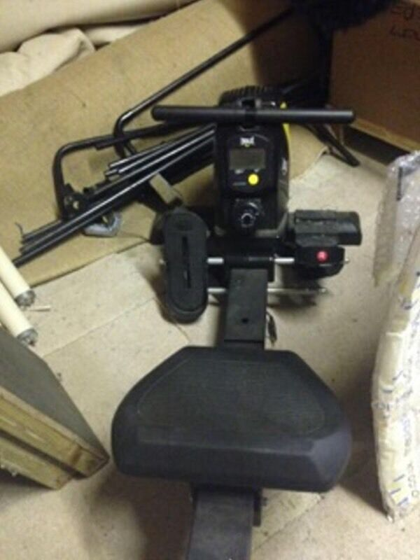 rowing machine with screen