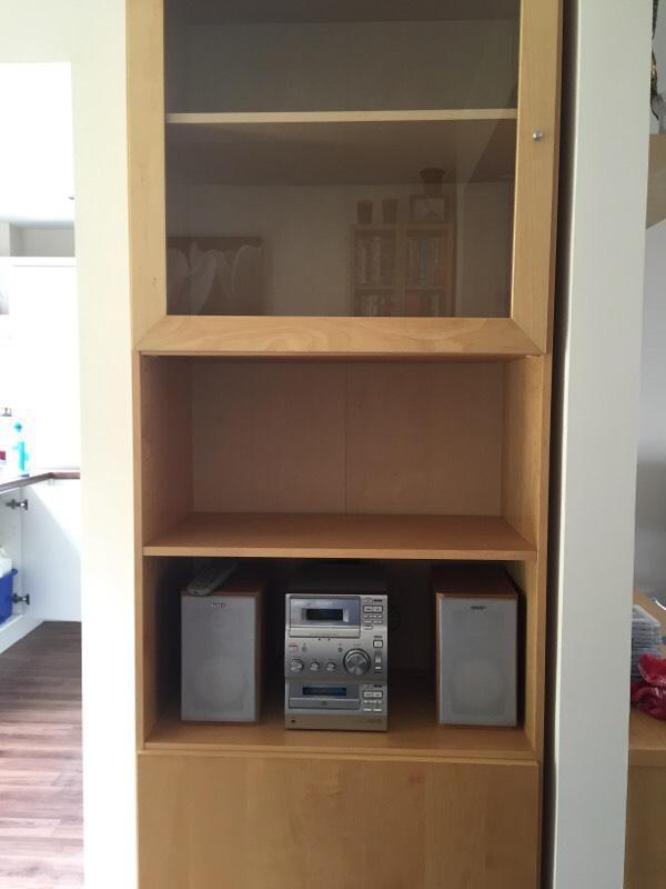 Ikea Bonde Display Cabinet United Kingdom Gumtree