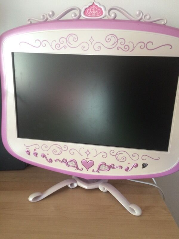 Disney Princess tv And Dvd Player Disney Princess Lcd tv And Dvd