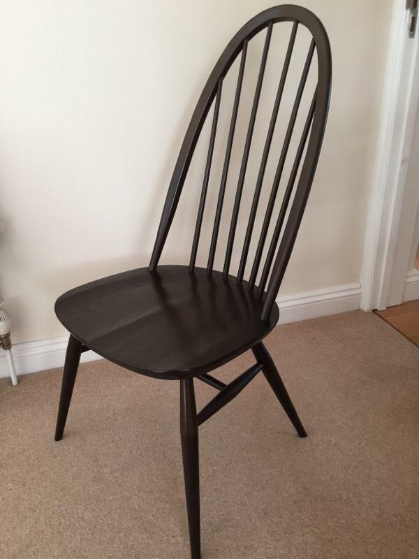 Near Perfect Condition Ercol Dining Chair For Sale 6 In Total United Kingd