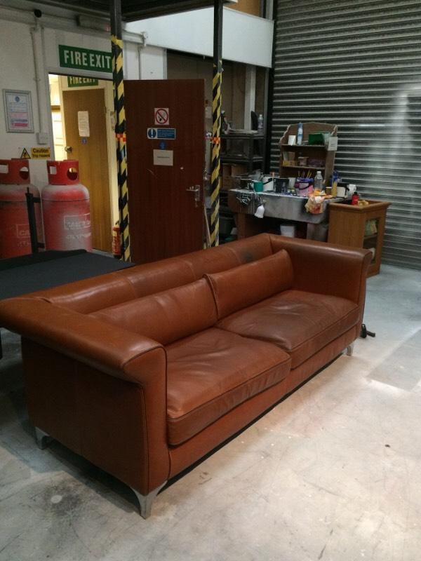 Italian Natuzzi Leather Sofa United Kingdom Gumtree