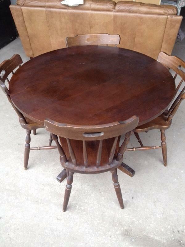 pine table and chairs farmhouse style united kingdom gumtree