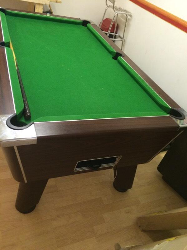 Pool Table 6ft Pub Style