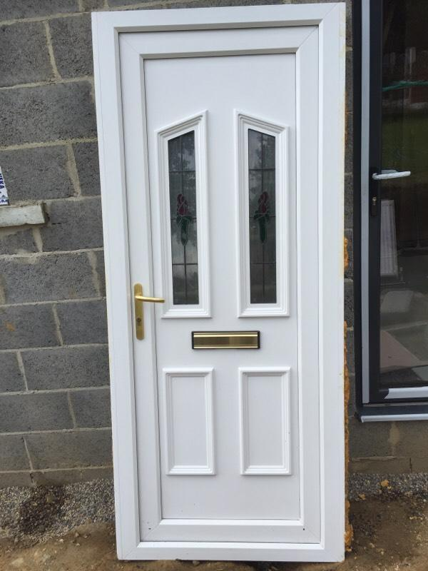 Contact stuart for Upvc front doors for sale