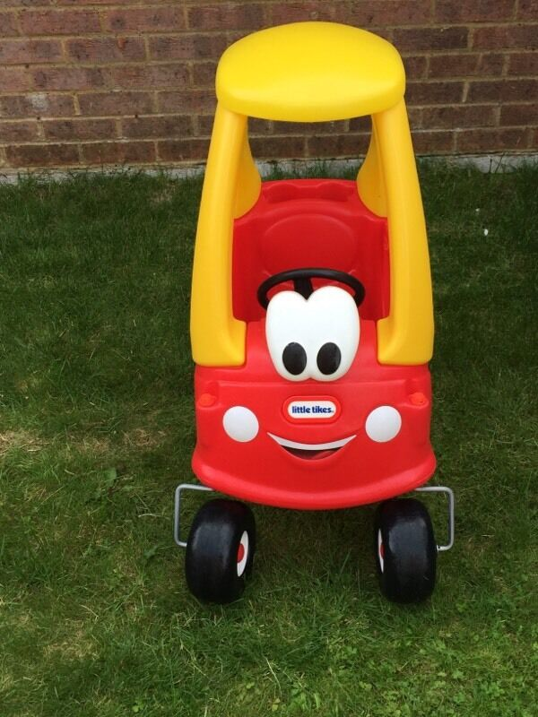 Used Yard Toys : Little tikes cozy coupe classic ride on car used but in