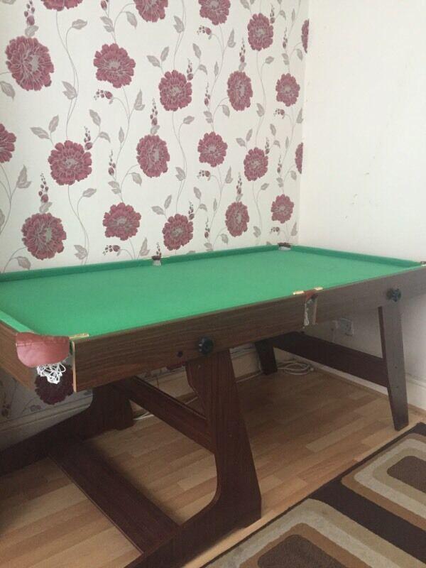 6ft Pub Style Pool Table
