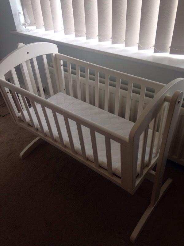 Mamas And Papas Breeze Crib White United Kingdom Gumtree