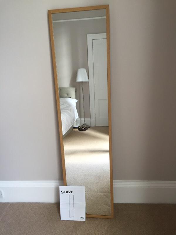 Ikea stave mirror installation images for Mirror installation