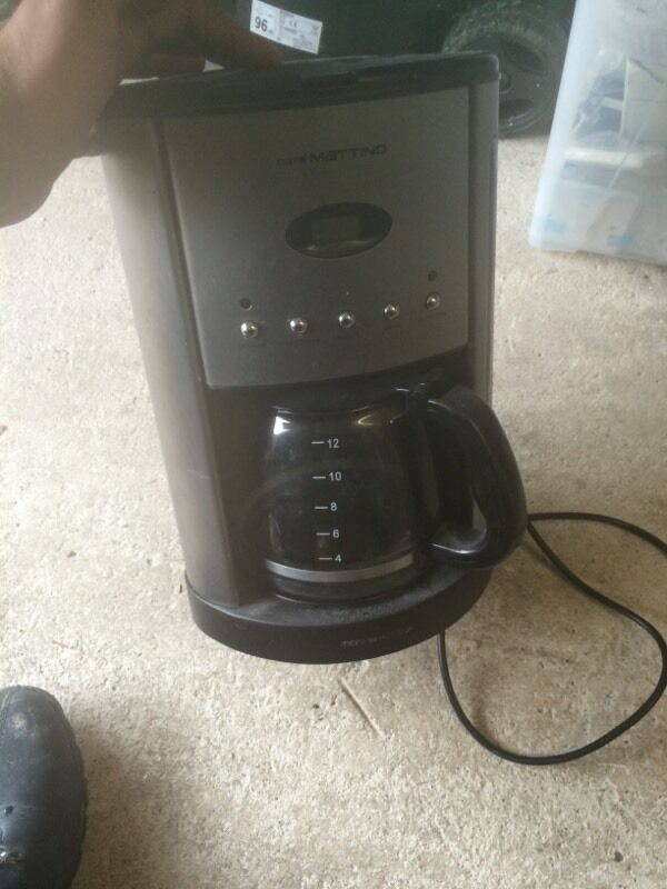 Morphy Richards Coffee Maker Not Working : Morphy richards coffee mattino Buy, sale and trade ads