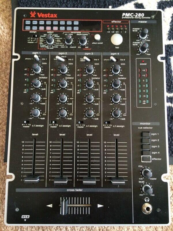 Vestax Pmc Vestax Pmc 280 4ch dj Mixer
