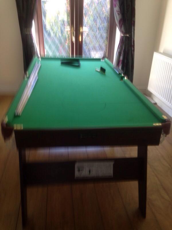 6ft Pool Table Pub Style