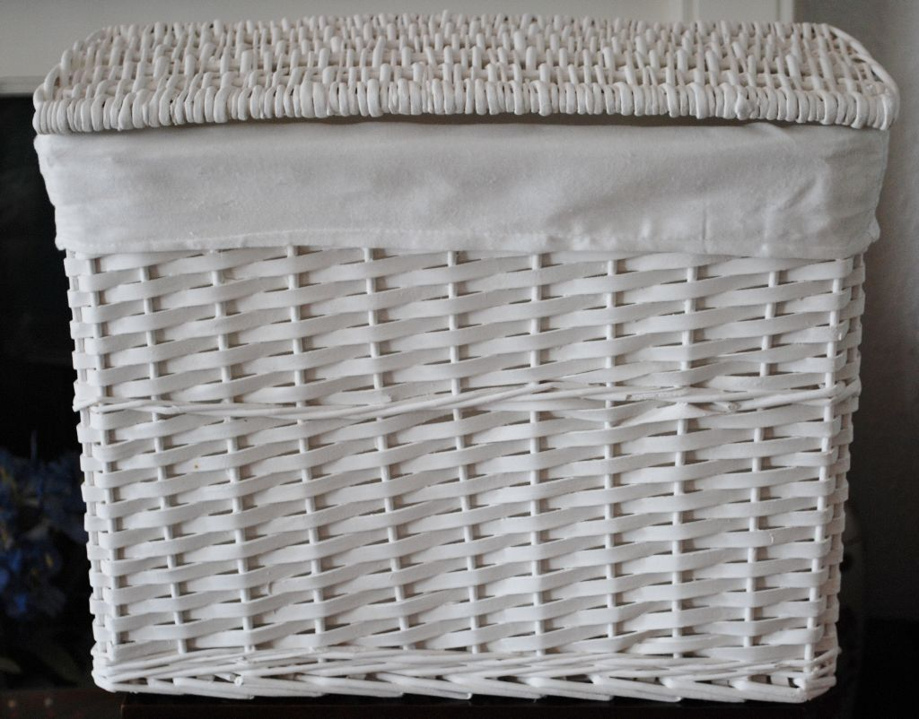 White wicker laundry basket united kingdom gumtree White wicker washing basket