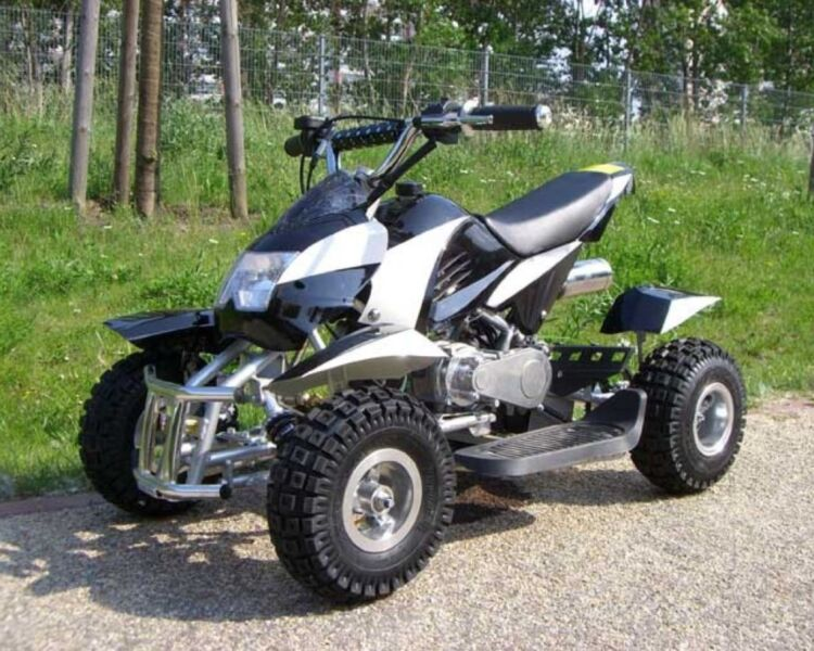 quad mini atv kinderquad pocketquad bike 49ccm 60km h. Black Bedroom Furniture Sets. Home Design Ideas