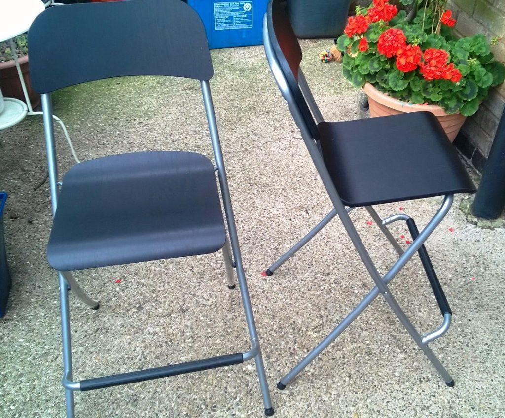 2 bar stools with back rests ikea franklin united