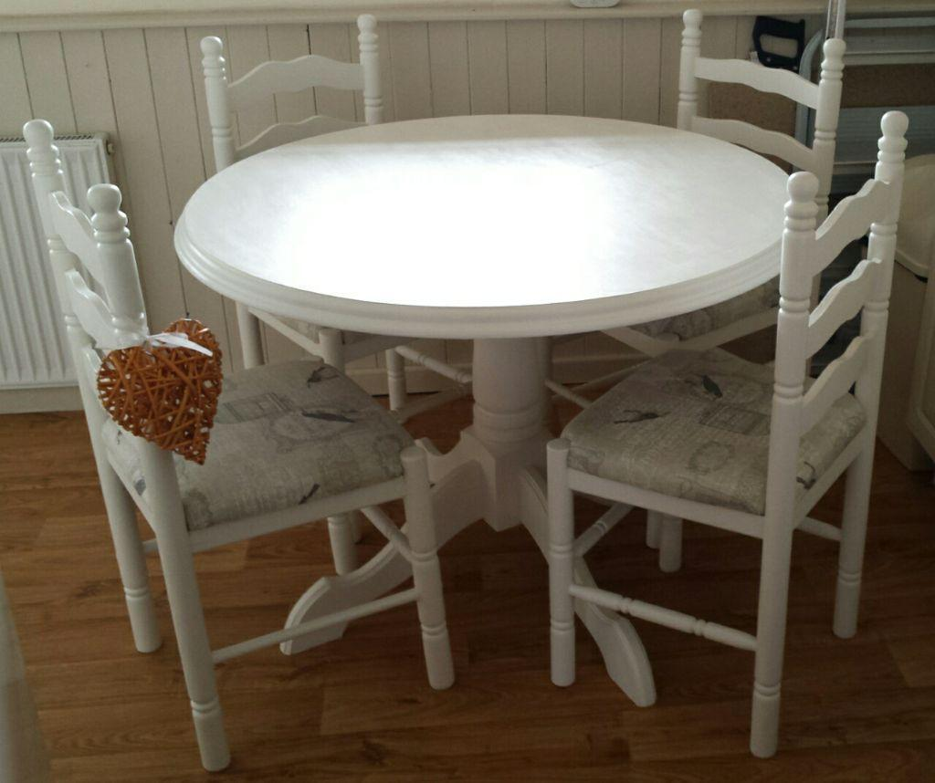 Lovely Shabby Chic Table And Chairs United Kingdom Gumtree