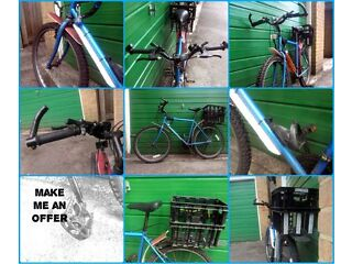 Blue Generic Men Mountain Bike