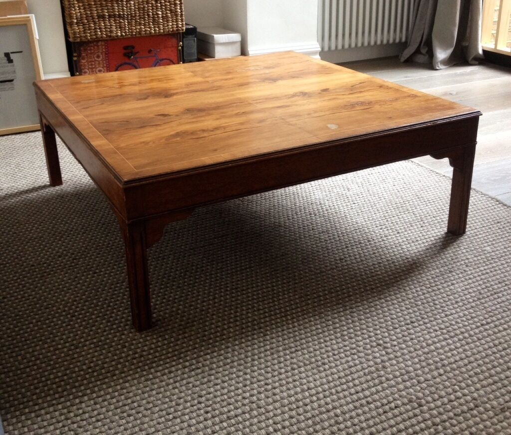 Antiquevintage solid wood square coffee table Beautifully  : 86 from dealry.co.uk size 1024 x 871 jpeg 177kB