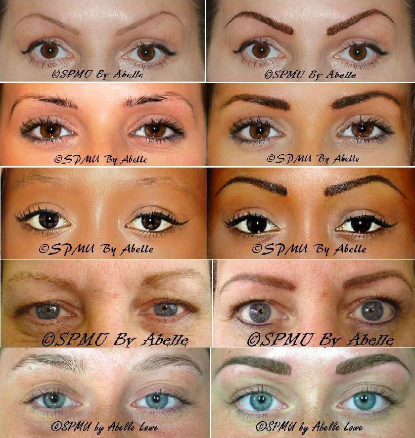 Semi Permanent Makeup Brows Semi Permanent Makeup
