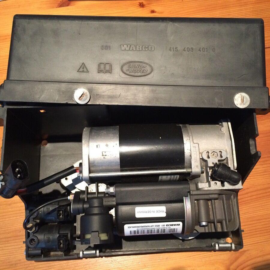 Air Supply Parts : Wabco land rover air supply unit suspension compressor