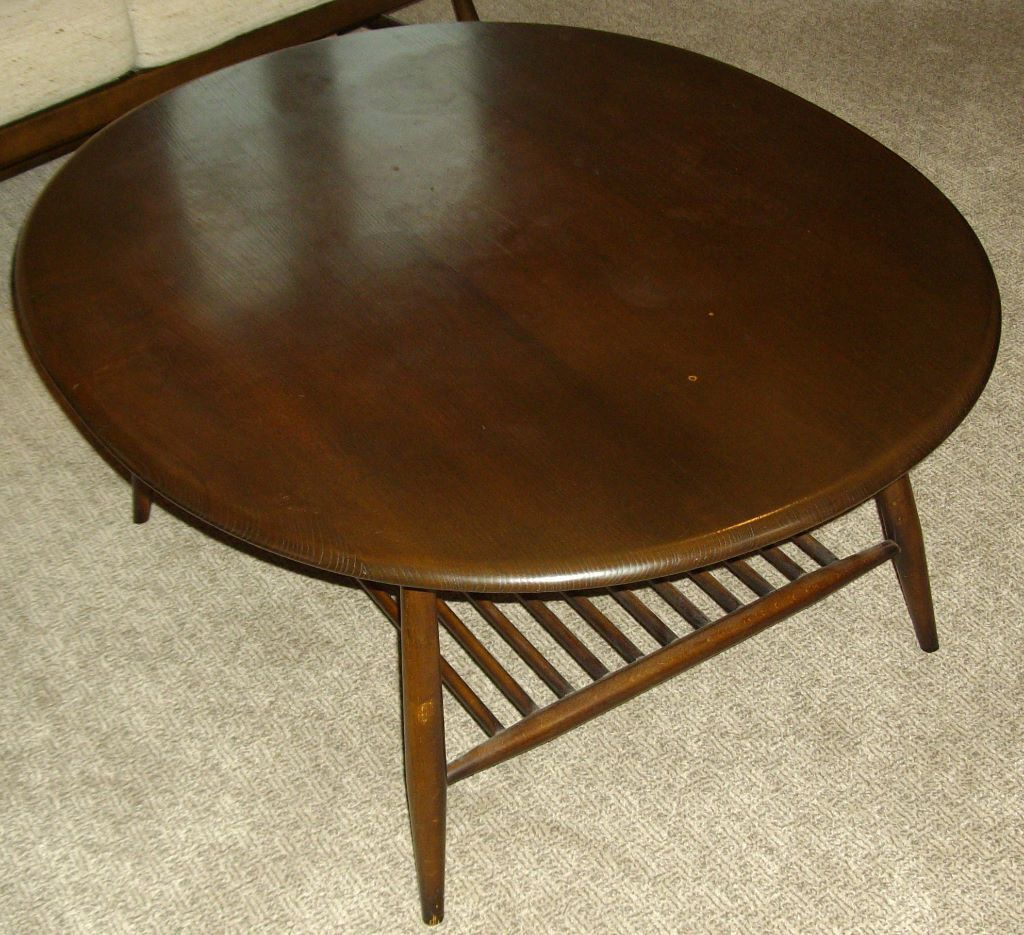 Ercol Oval Coffee Table: Ercol Coffee Table Magazine Buy Or Sell