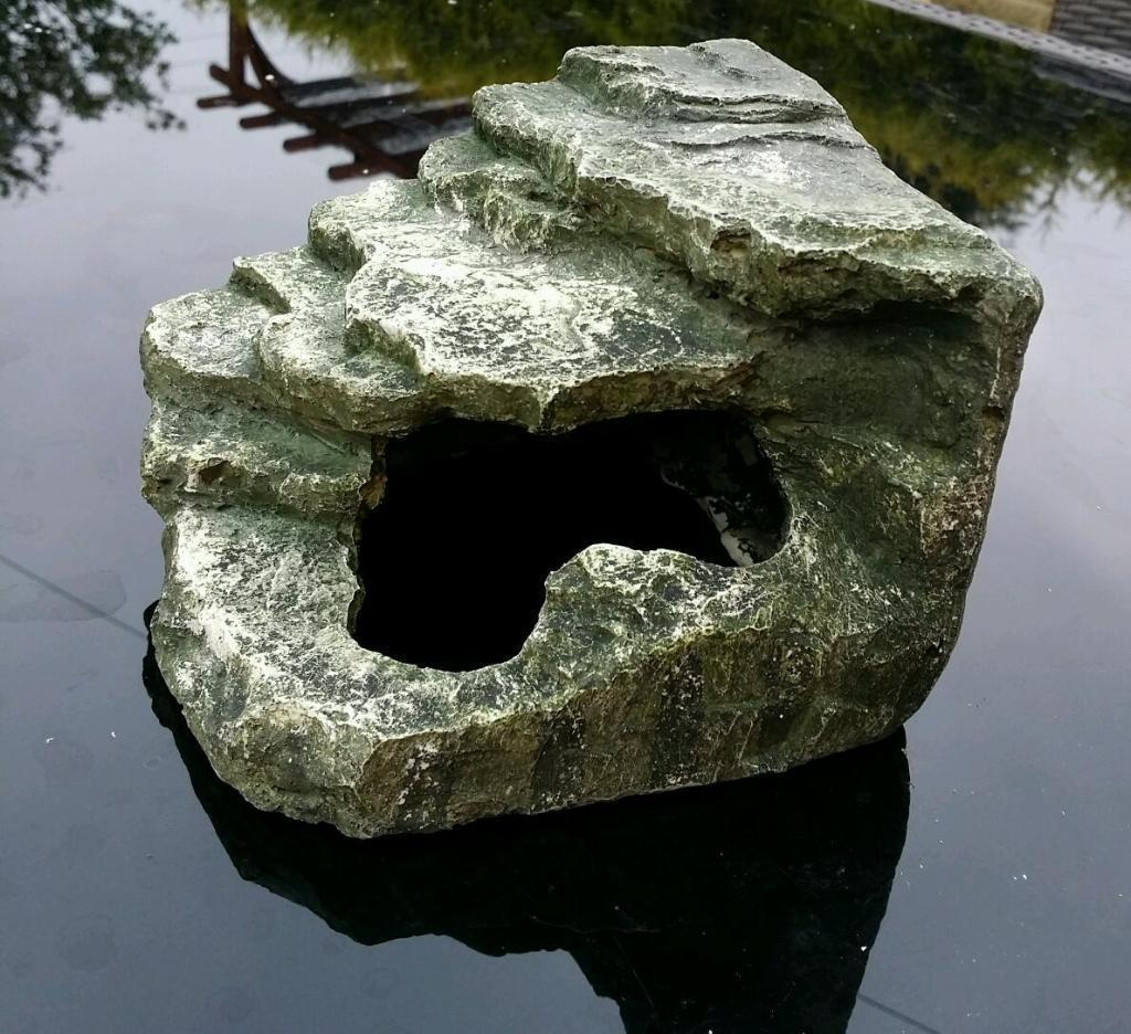 Fish tank accessories rocks ornaments rock arch fish for Fish aquarium rocks