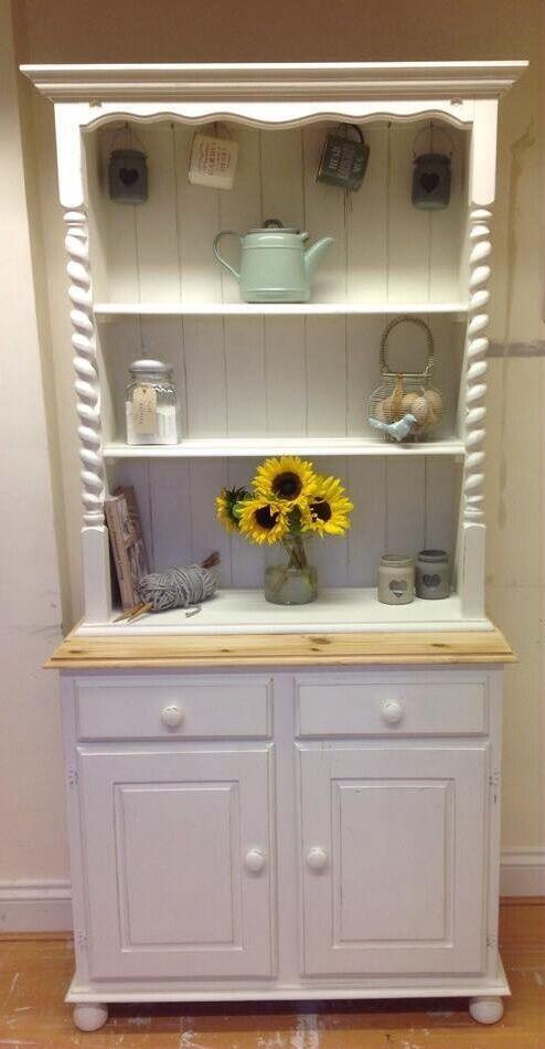 3ft handpainted pine welsh dresser united kingdom gumtree - Garden furniture kings lynn ...