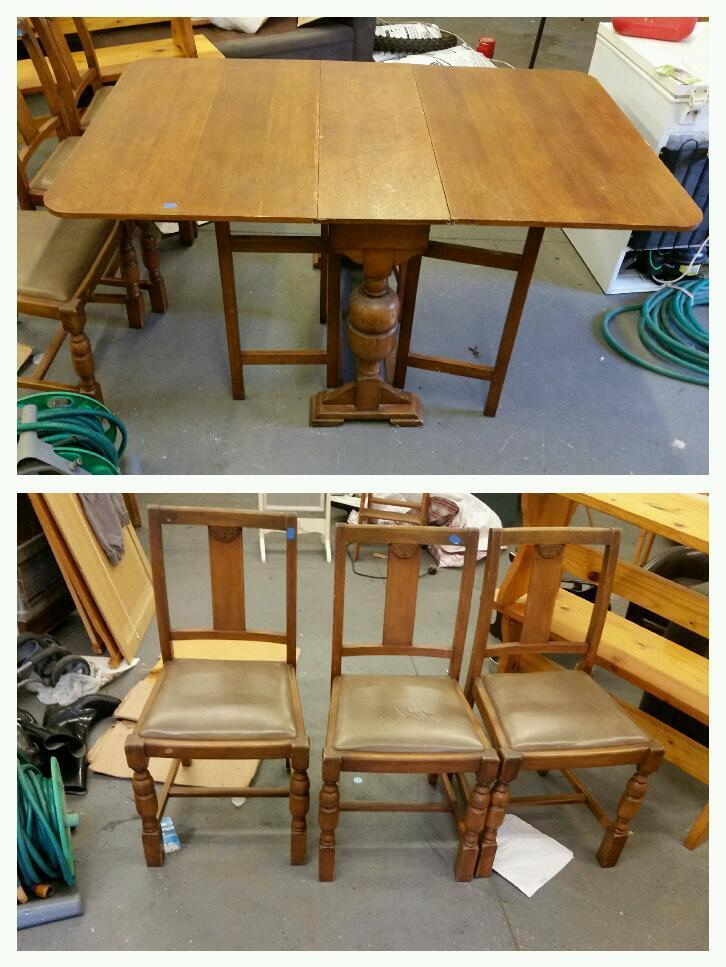 Acorn Table And Chairs Shabby Chic United Kingdom Gumtree