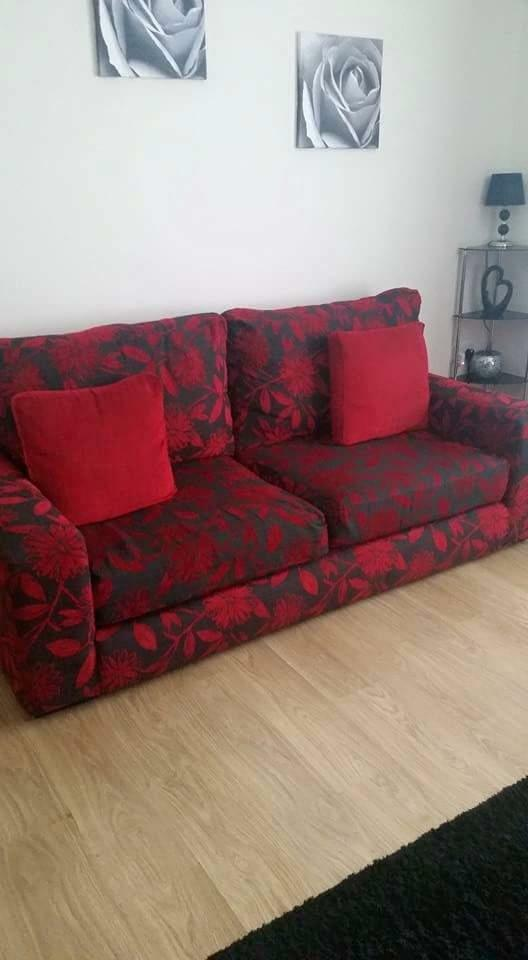 3 Seater Sofa 1 Armchair And Footstool For Sale United