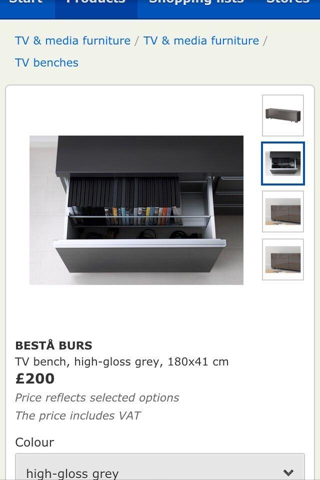 High Gloss tv Unit Grey High Gloss Grey tv Unit Ikea