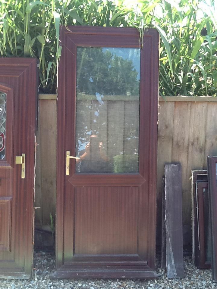 Upvc front back door united kingdom gumtree for Upvc front doors for sale