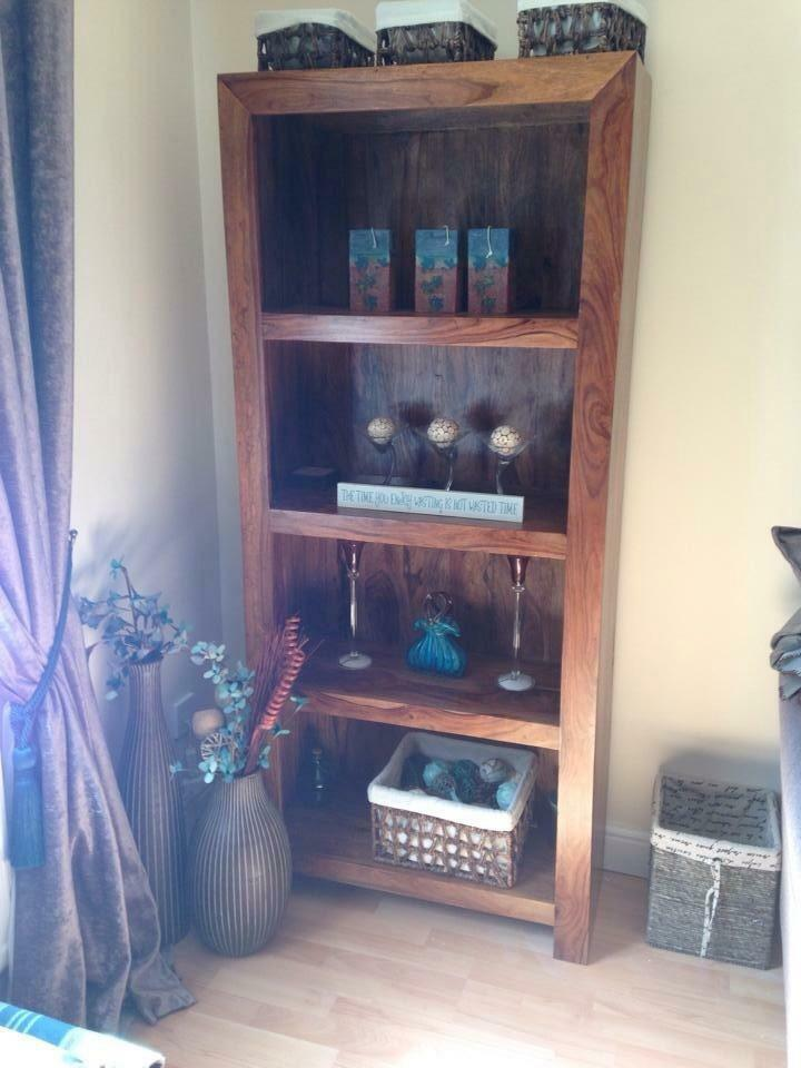 sheesham cube style bookcase united kingdom gumtree