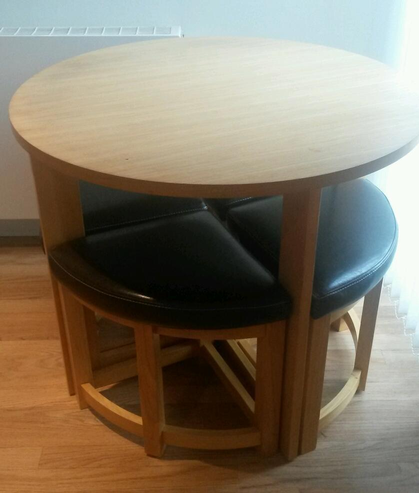 dining table and 4 chairs space saving united kingdom gumtree