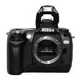 Nikon D70 6.1 Megapixels Digital Camera  Black (B...