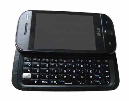 LG  GW620 - Black - Mobile Phone