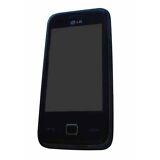 LG GM750  Black  Smartphone