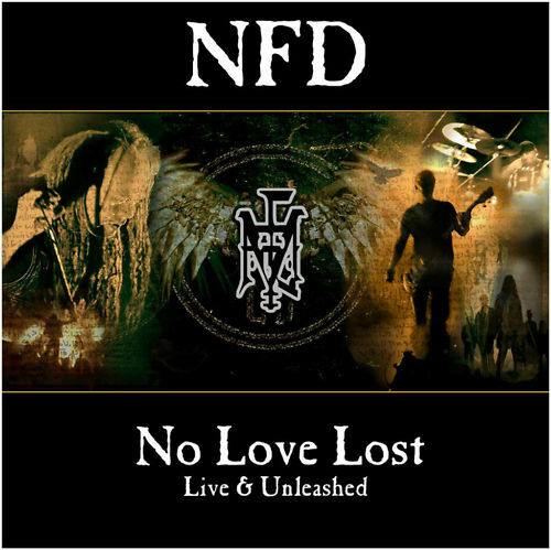 NFD No Love Lost + Live And Unleashed special ed 2xCD Fields of the Nephilim new