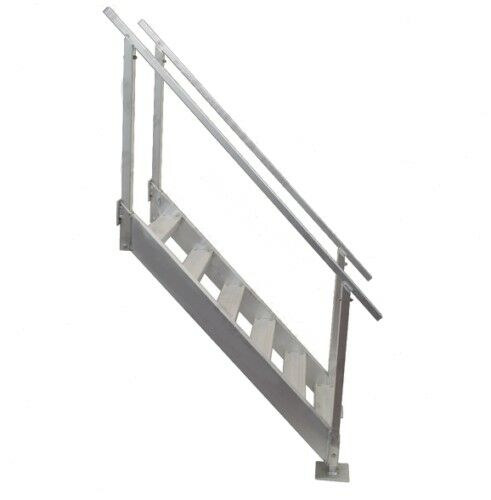 Boat Dock Stairs   6 Step With Handrail