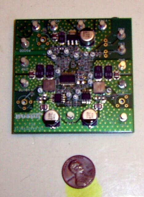 ISL6442EVAL1Z  Dual PWM and Linear Controller Intersil Evaluation Board