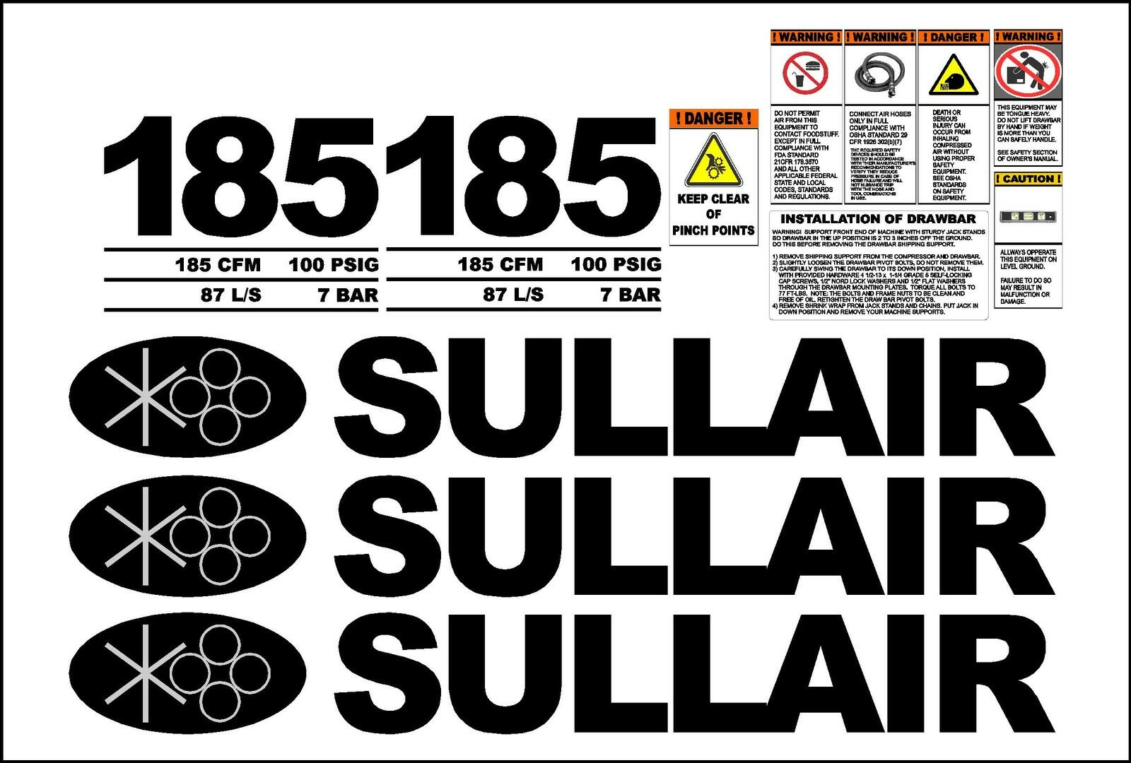 sullair logo. picture 1 of sullair logo