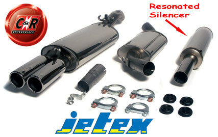 VW Golf Mk2 All 16V Not 4WD Stainless Steel Jetex Exhaust System 28-HR 85-91