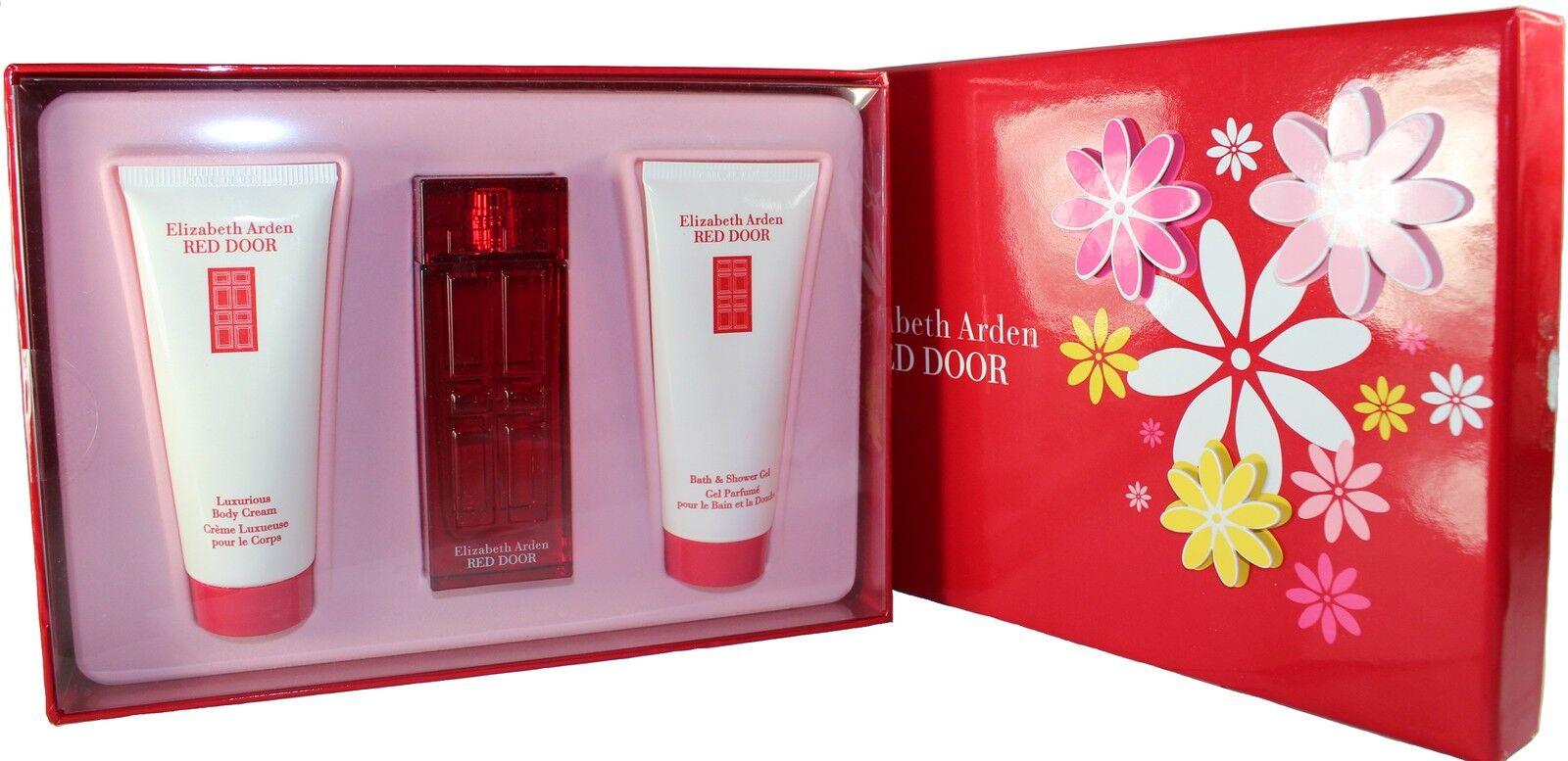 Elizabeth Arden Red Door 3pc Gift Set Ebay